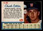1962 Post #66  Chuck Cottier   Front Thumbnail