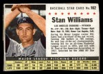 1961 Post #162  Stan Williams   Front Thumbnail