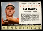 1961 Post #188 BOX Ed Bailey   Front Thumbnail