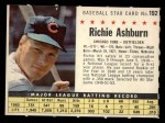 1961 Post Cereal #192 COM Richie Ashburn   Front Thumbnail