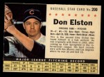 1961 Post Cereal #200 COM Don Elston   Front Thumbnail