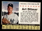1961 Post #16  Art Ditmar   Front Thumbnail