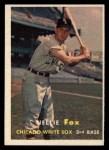 1957 Topps #38  Nellie Fox  Front Thumbnail