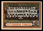 1957 Topps #161   Pirates Team Front Thumbnail