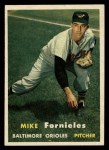 1957 Topps #116  Mike Fornieles  Front Thumbnail