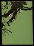 1966 Philadelphia Green Berets #66   Checklist Back Thumbnail