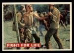 1956 Topps Davy Crockett #18 ORG  Fight For Life  Front Thumbnail