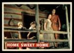 1956 Topps Davy Crockett #24 ORG  Home Sweet Home  Front Thumbnail