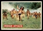 1956 Topps Davy Crockett #14 ORG  Indian Attack  Front Thumbnail
