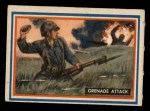 1953 Topps Fighting Marines #68   Grenade Attack Front Thumbnail