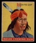 1933 Goudey Indian Gum #95   White Cap  Front Thumbnail