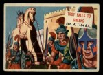 1954 Topps Scoop #88   Troy Falls To Greeks Front Thumbnail