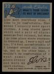 1956 Topps / Bubbles Inc Elvis Presley #22   The Fan's Friend Back Thumbnail