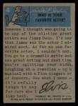 1956 Topps / Bubbles Inc Elvis Presley #4   Love Me Tender Back Thumbnail