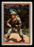 1953 Topps Fighting Marines #19   Automatic Rifle Front Thumbnail