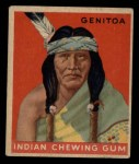 1947 Goudey Indian Gum #64   Genitoa Front Thumbnail