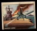 1950 Topps Freedoms War #148   Dangerous Landing  Front Thumbnail