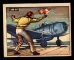 1950 Topps Freedoms War #144   Take Off  Front Thumbnail