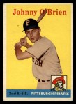 1958 Topps #426  Johnny O'Brien  Front Thumbnail