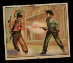 1949 Bowman Wild West #1 F  Sheriff Gets His Man Front Thumbnail