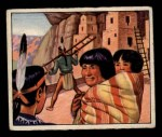 1949 Bowman Wild West #14 B  Cliff Dwellers Front Thumbnail