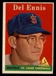 1958 Topps #60 ^WN^ Del Ennis  Front Thumbnail