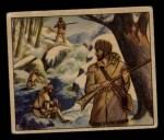 1949 Bowman Wild West #4 A  Mountain Men Front Thumbnail