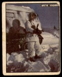 1950 Topps Freedoms War #203   Arctic Soldier  Front Thumbnail