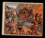 1949 Bowman Wild West #24 A  Virginia City Boom Front Thumbnail