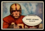 1953 Bowman #27  Harry Gilmer  Front Thumbnail
