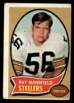 1970 Topps #107  Ray Mansfield  Front Thumbnail