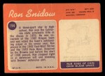 1970 Topps #194  Ron Snidow  Back Thumbnail