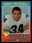 1971 Topps #132  Andy Russell  Front Thumbnail