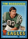 1971 Topps #116  Tim Rossovich  Front Thumbnail