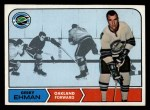 1968 Topps #84  Gerry Ehman  Front Thumbnail