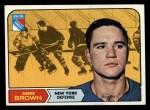 1968 Topps #68  Arnie Brown  Front Thumbnail