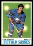 1970 Topps #127  Phil Goyette  Front Thumbnail