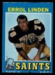 1971 Topps #117  Errol Linden  Front Thumbnail