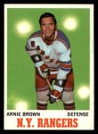 1970 Topps #66  Arnie Brown  Front Thumbnail
