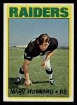 1972 Topps #54  Marv Hubbard  Front Thumbnail