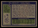 1972 Topps #45  Bill Bradley  Back Thumbnail