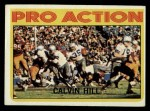 1972 Topps #129   -  Calvin Hill Pro Action Front Thumbnail