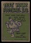 1972 Topps #261   -  Greg Landry Pro Action Back Thumbnail