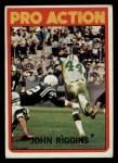 1972 Topps #126   -  John Riggins Pro Action Front Thumbnail
