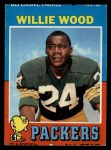 1971 Topps #55  Willie Wood  Front Thumbnail