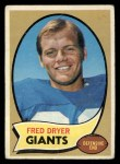 1970 Topps #247  Fred Dryer  Front Thumbnail