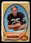 1970 Topps #85  Fred Biletnikoff  Front Thumbnail
