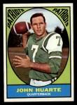 1967 Topps #1  John Huarte  Front Thumbnail