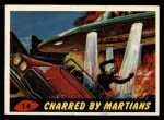 1962 Mars Attacks #14   Charred by Martians  Front Thumbnail