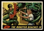 1962 Topps / Bubbles Inc Mars Attacks #31   The Monster Reaches In  Front Thumbnail
